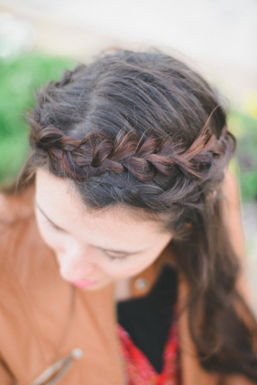 Love this braided crown!