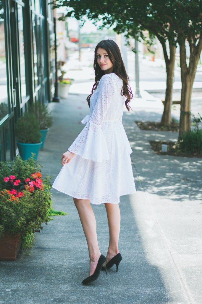 Custom Bell Sleeve Dress