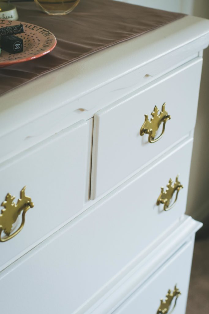 DIY upcycled dresser