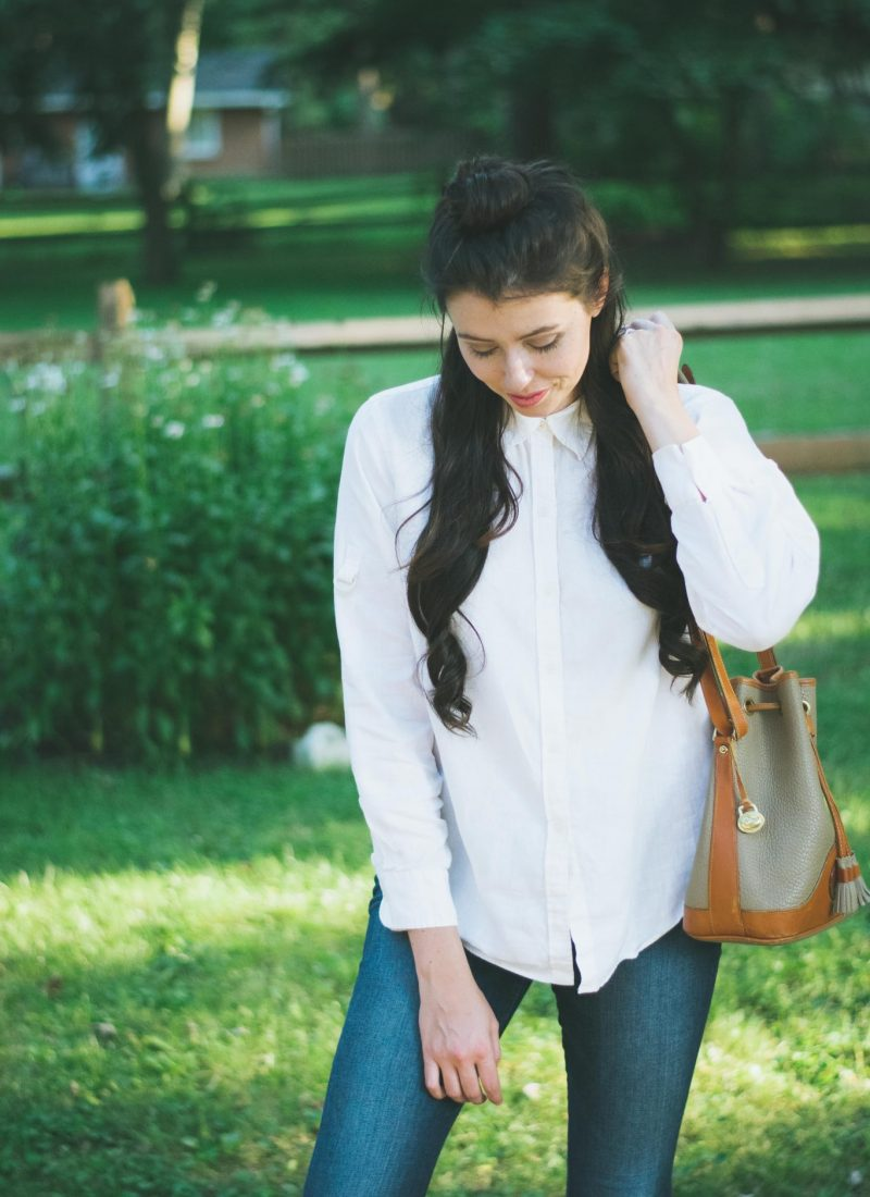 Effortless White Button Down