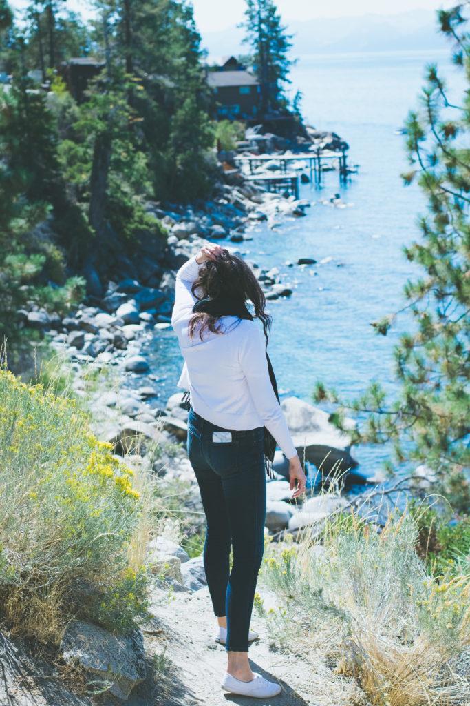 Out Exploring at Lake Tahoe