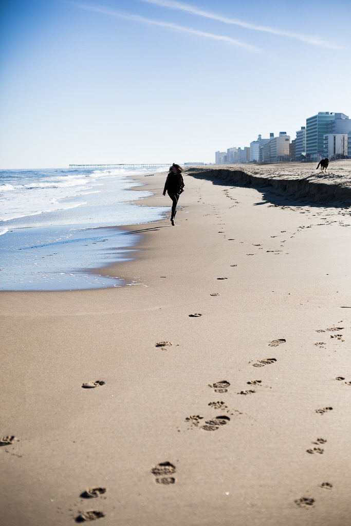 A Winter S Day At Virginia Beach