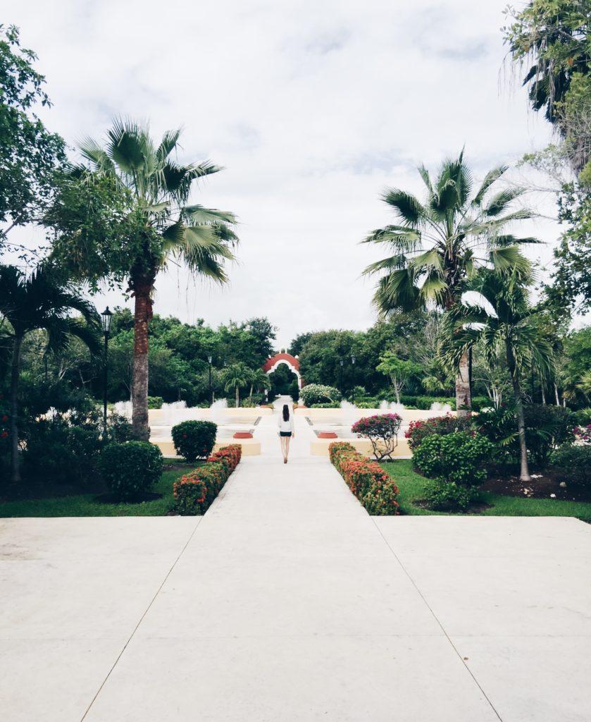 the estate at Valentin Imperial Maya