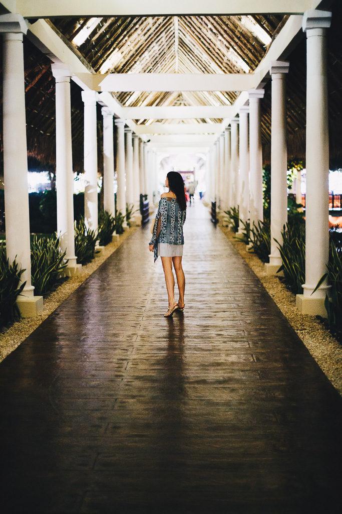 walkway in Cancun