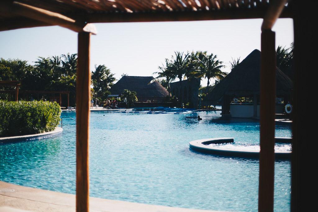 pool in Cancun
