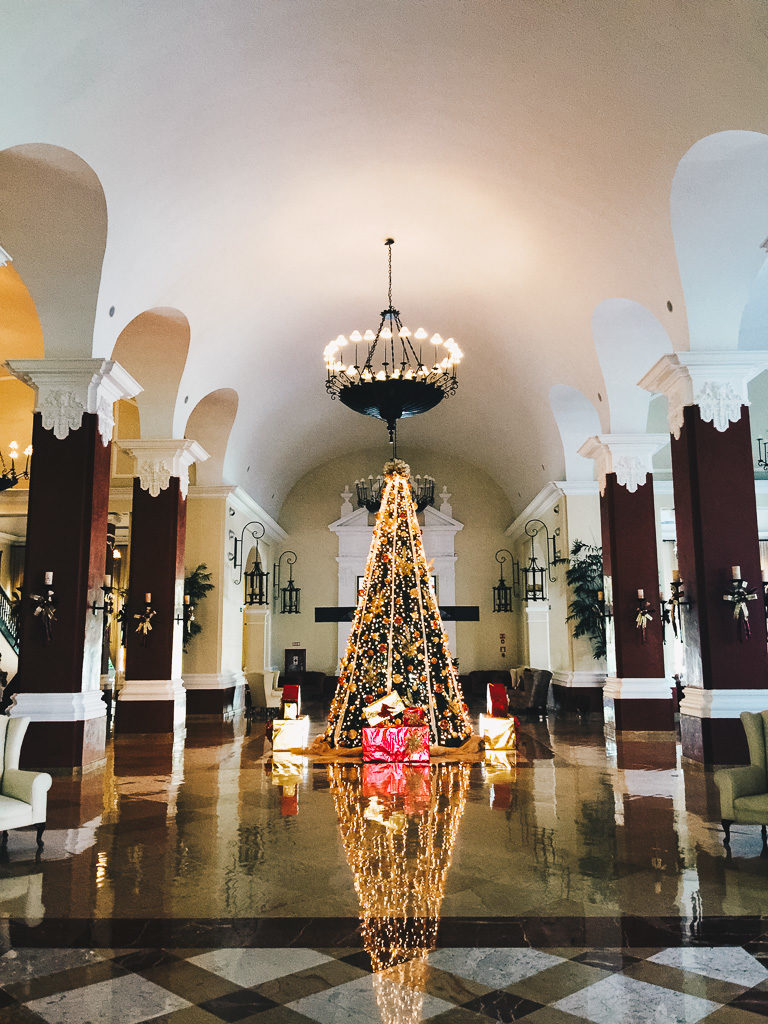 the great hall at Valentin Imperial Maya