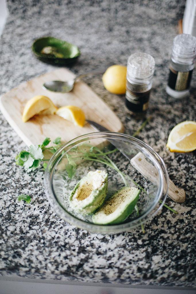 avocados and lemon