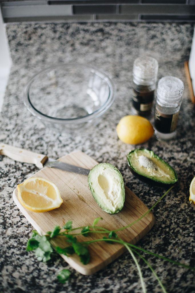 avocados and lemons