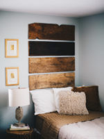 Eclectic Rustic Bedroom