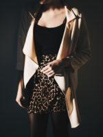 Neutrals and a Leopard Skirt
