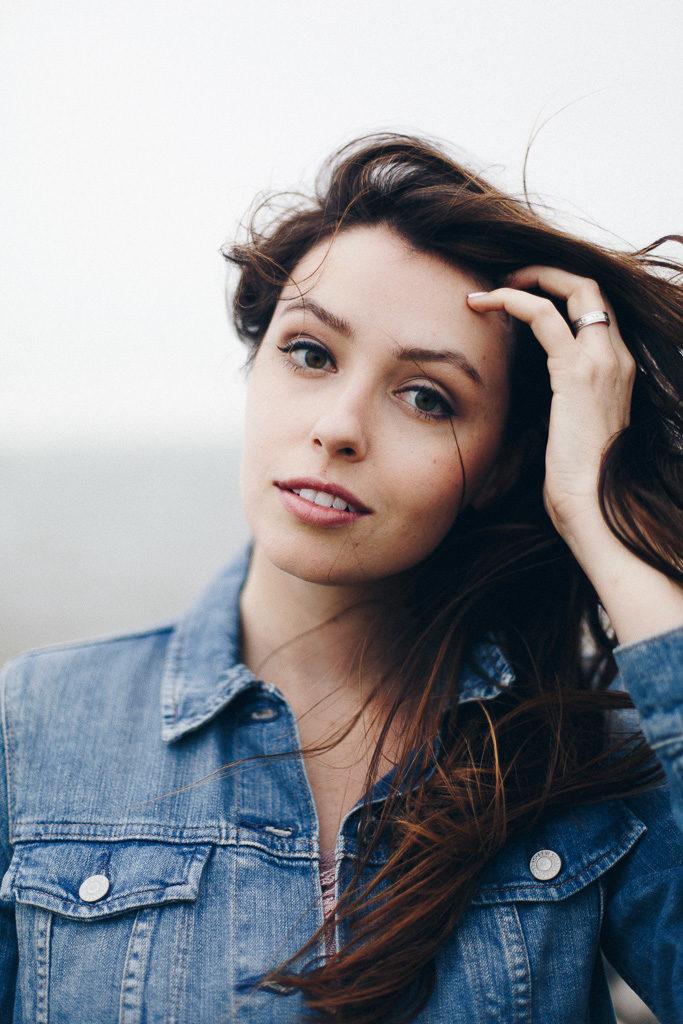 portrait   balayage hair