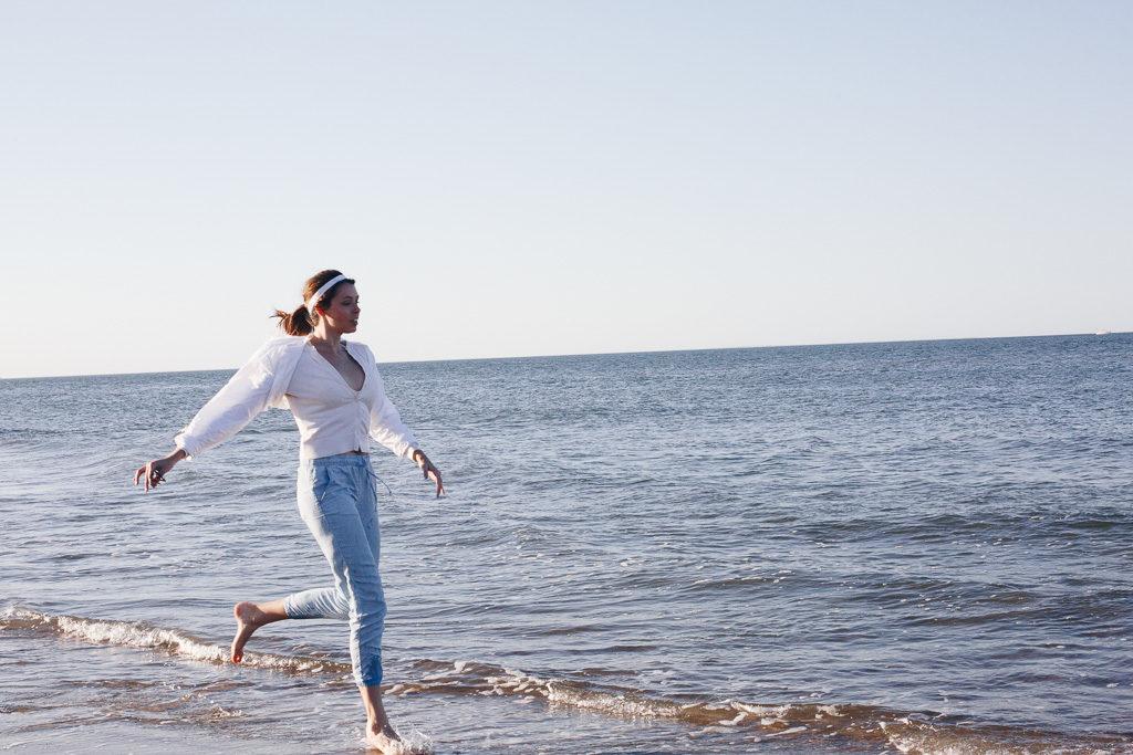 preppy beach vibes