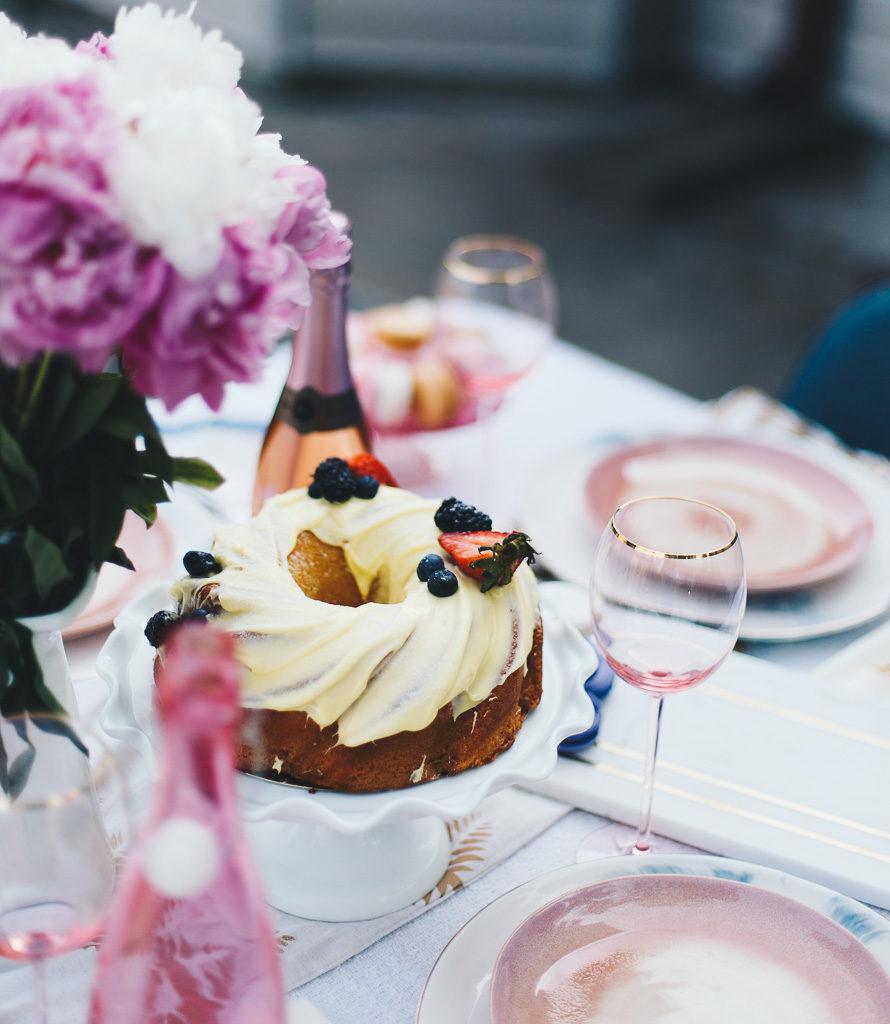 gorgeous spring cake