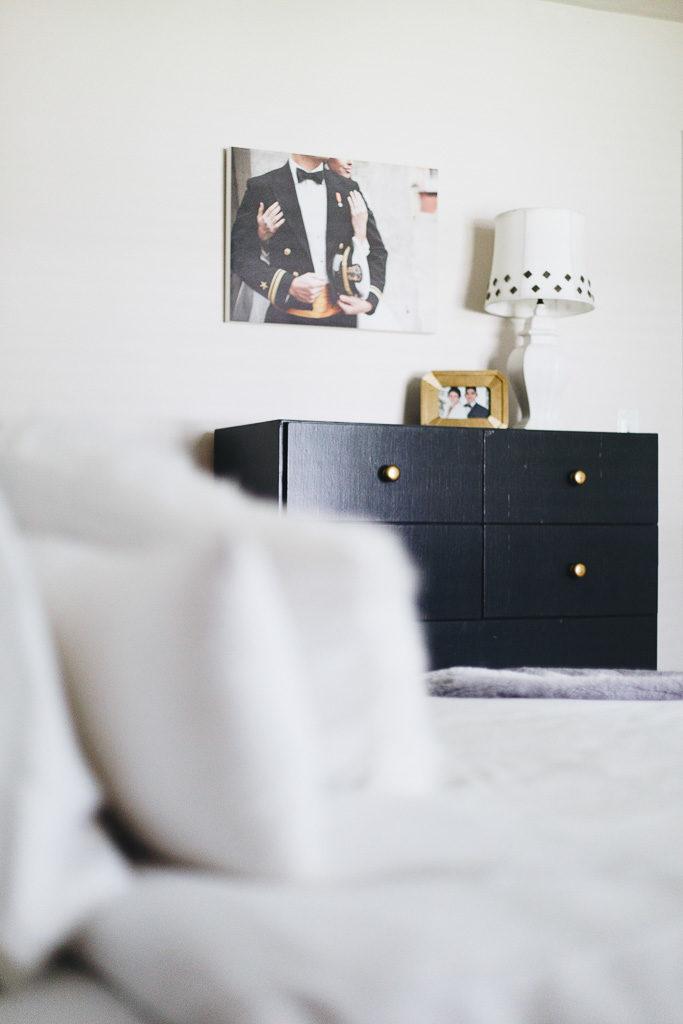 charcoal grey dresser