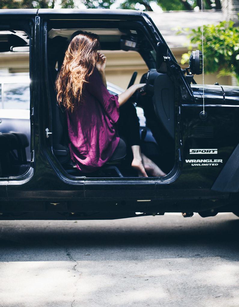 doorless jeep life