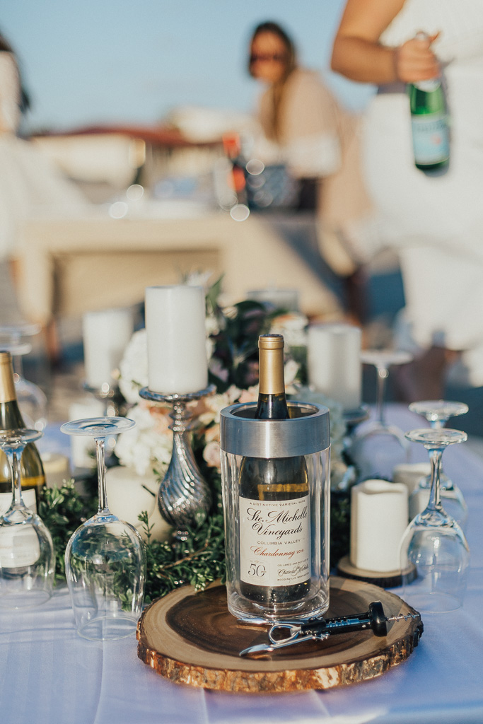 The Dreamiest Beach Dinner Setup