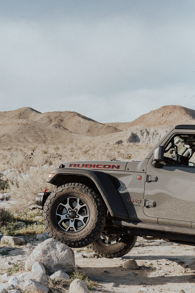 Off-roading in Desert Canyons