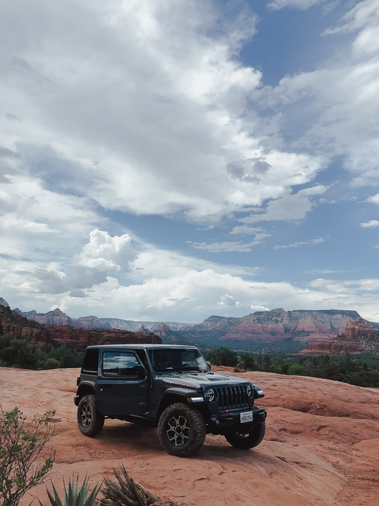 off-roading in sedona